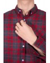 Long Sleeves Plaid Shirt